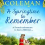 A Springtime To Remember Book Release Date? 2019 Romance Novel Publications