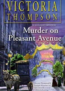 Murder On Pleasant Avenue Book Release Date? 2020 Historical Mystery Novels