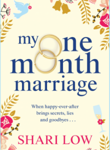 My One Month Marriage Novel Release Date? 2020 Romance Publications