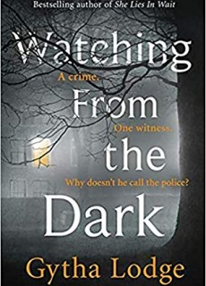 Watching From The Dark - Novel By Gytha Lodge Release Date? 2020 Mystery & Crime Fiction Releases