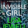 Lisa Jewell - Invisible Girl Release Date? 2020 Mystery Thriller Releases