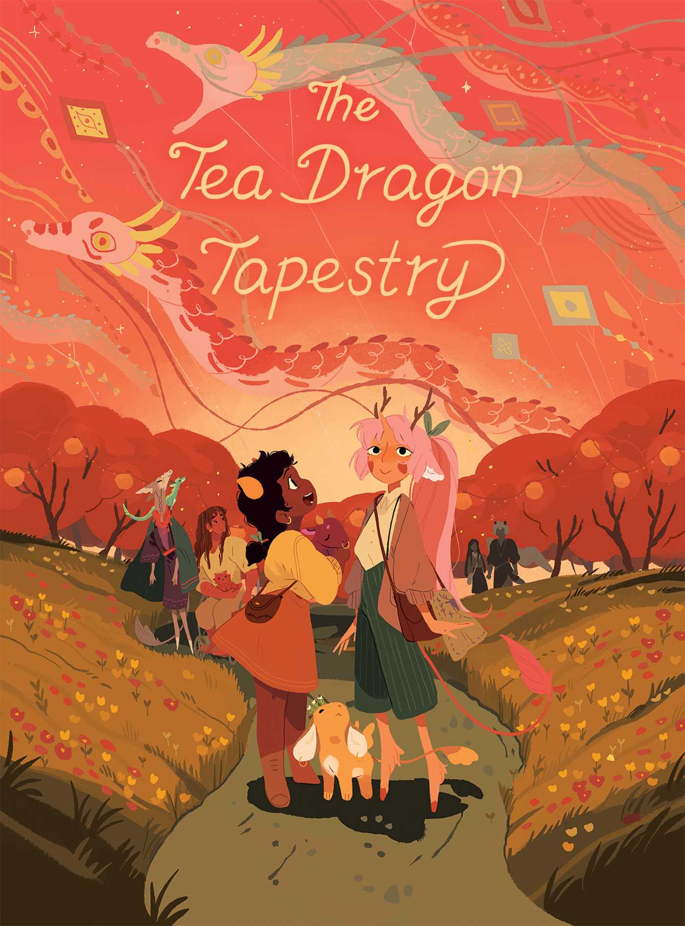 The Tea Dragon Tapestry By Katie O'Neill Release Date? 2020 Sequential Art & Graphic Novels