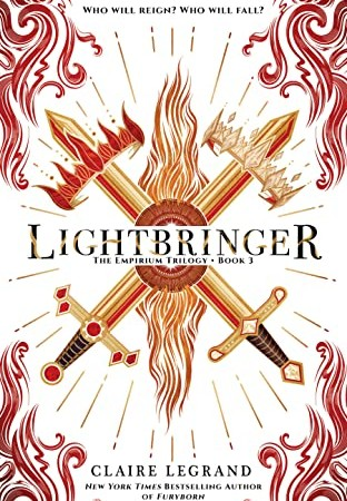 Lightbringer (Empirium #3) By Claire Legrand Release Date? LGBT, YA & Fantasy Releases