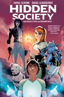When Will Hidden Society By Rafael Scavone Release? 2020 Fantasy & Sequential Art Releases