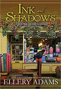 When Does Ink And Shadows By Ellery Adams Come Out? 2021 Cozy Mystery Releases