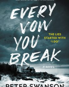 Every Vow You Break Release Date? 2021 Peter Swanson New Releases