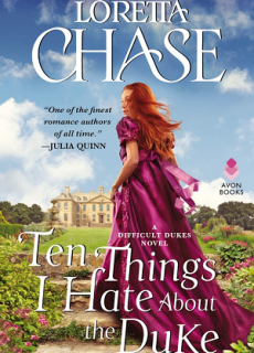 Ten Things I Hate About The Duke (Difficult Dukes 2) Release Date? 2020 Loretta Chase New Releases